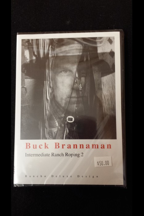 """Intermediate Ranch Roping 2"" Buck Brannaman DVD"