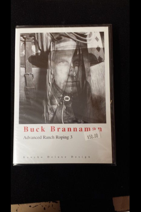 """Advanced Ranch Roping 3"" Buck Brannaman DVD"