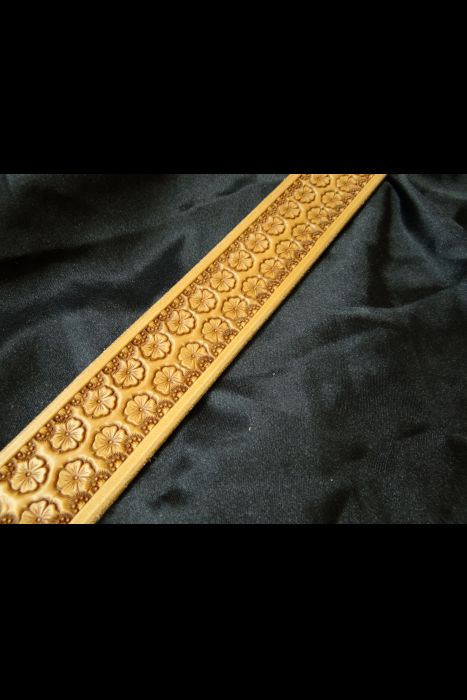 Hamley Daisy Stamped Belt | Another View