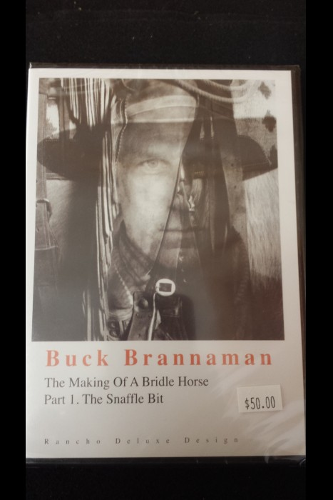"""The Making Of A Bridle Horse; Part 1. The Snaffle Bit"" Buck Brannaman DVD"