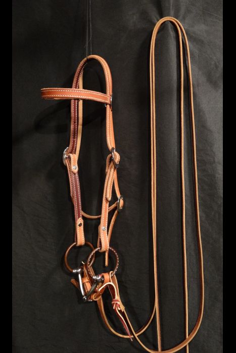 Split Rein Bridle Set