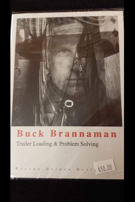 """Trailer Loading & Problem Solving"" Buck Brannaman DVD"