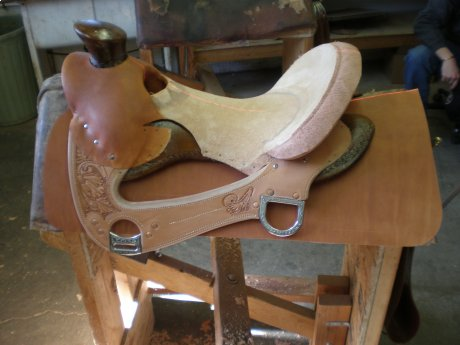 The Making Of A Saddle Frecker S Saddlery