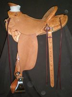 Buck Brannaman Half Breed Saddle