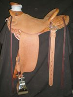Buck Brannaman Light-weight Quarter breed Saddle