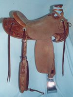 Ray Hunt Half Breed Saddle