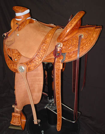 Mary Brannaman Saddle