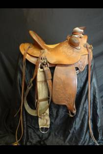 15 1/2 Used Three Quarter Breed Saddle