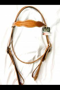 Double Scalloped Headstall