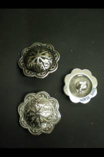 4210 Floral Concho w/Post JWP