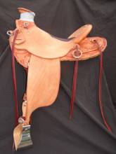 1/2 Tooled Australian Saddle