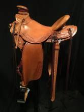 3/4 Tooled Saddles