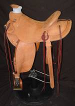 Lighter-Weight Wade Saddle