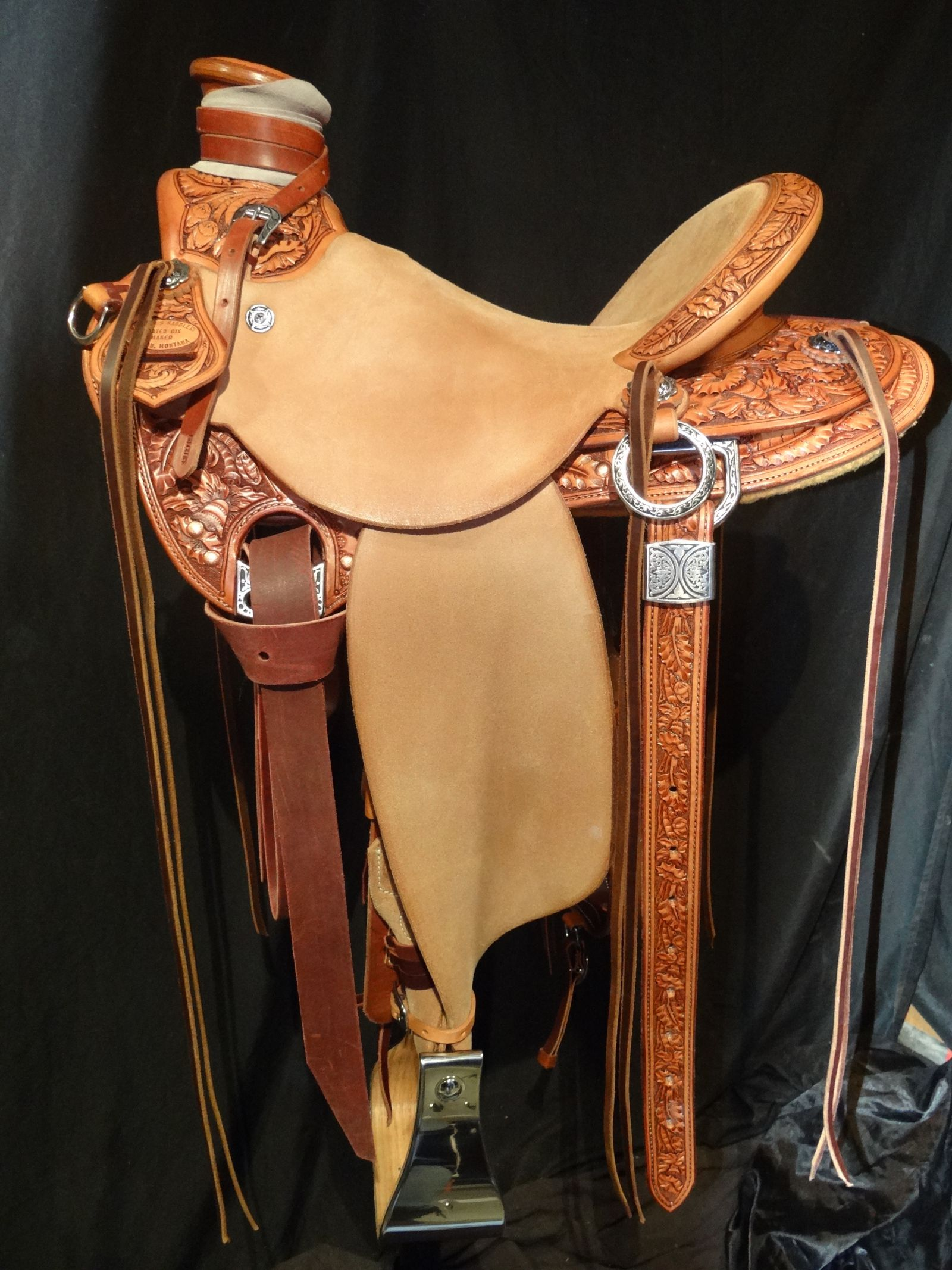 Traditional Tooling Patterns - Frecker's Saddlery Gallery