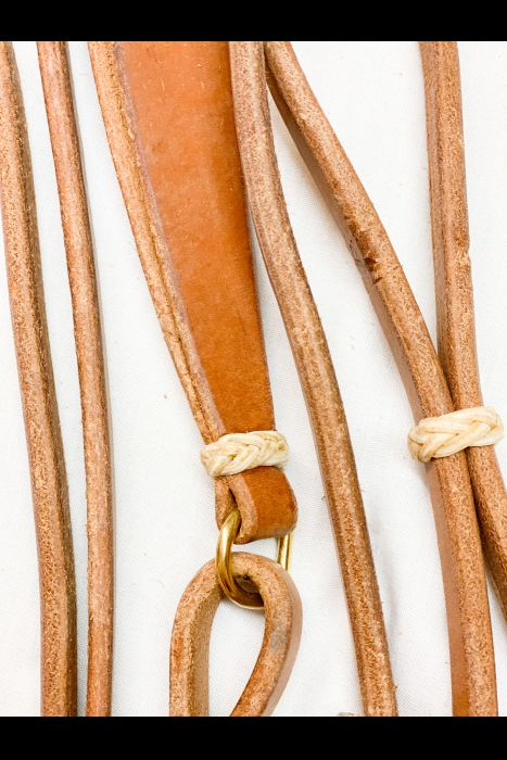 1/2 Harness Leather Romals | Another View