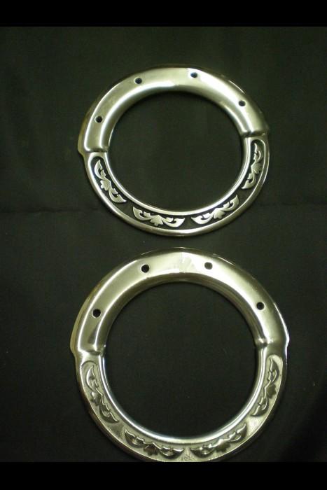 4130 Floral Inskirt Rigging Ring JWP (pair)