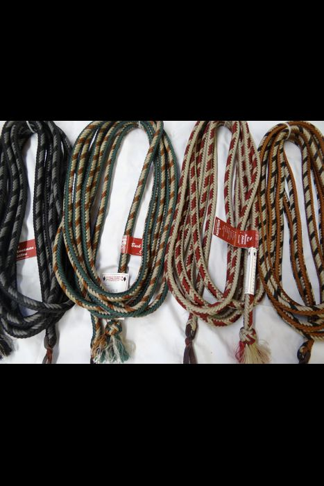 12 Strand Braided Parachute Cord Mecate (Assorted Colors) | Another View