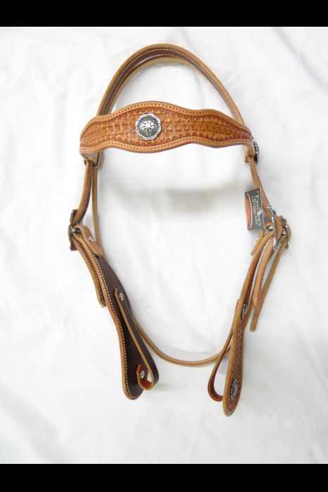 Geometric Floral Headstall