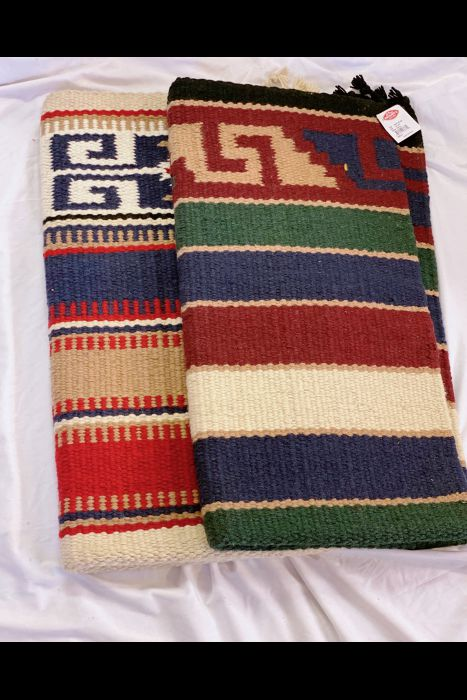 "Heavy Double Weave Saddle Blanket 32"" X 64"""