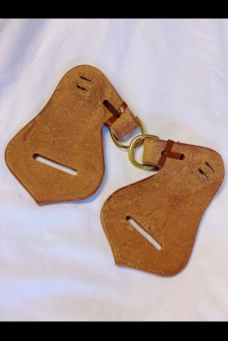 Latigo Carriers with Breast Collar Tabs