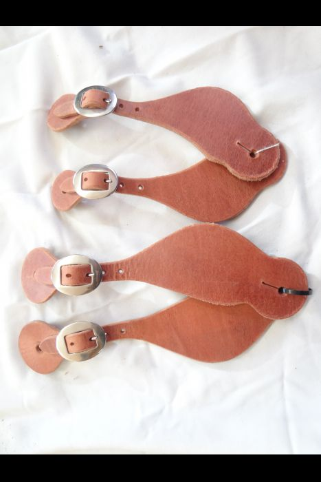 Harness Leather Spur Straps